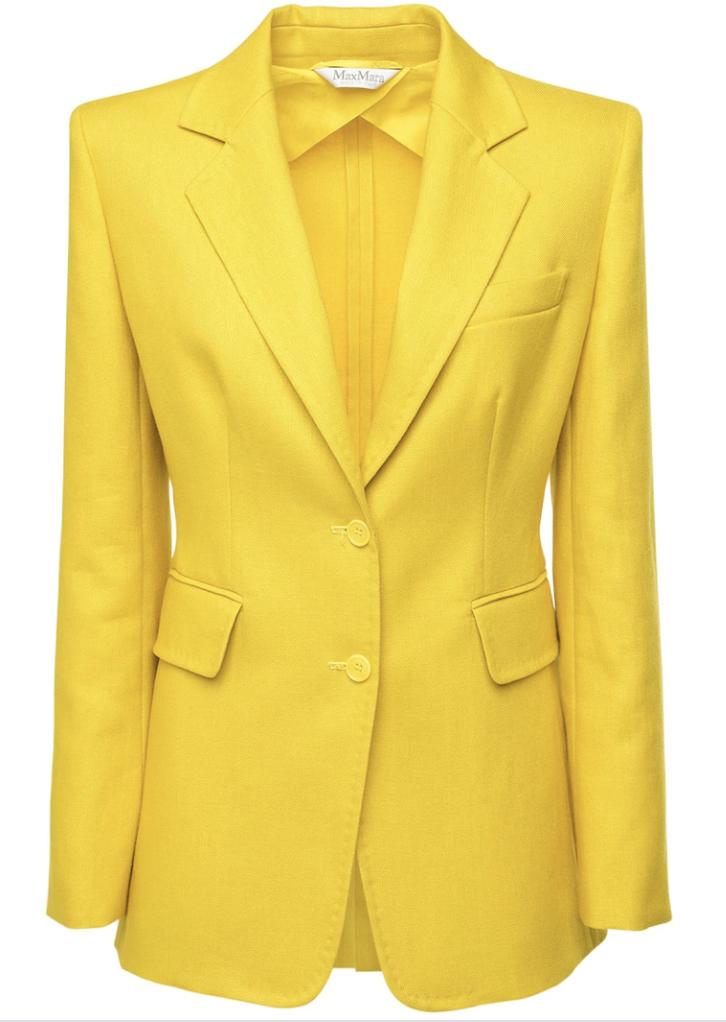 giacca giallo pantone 2021