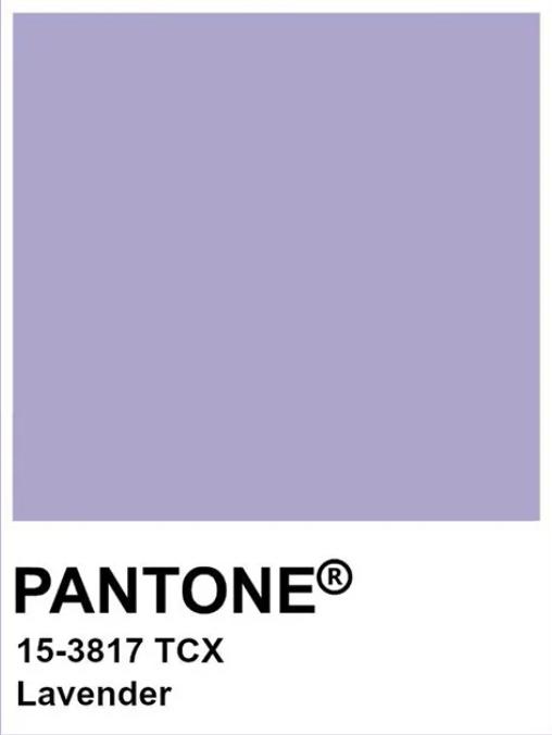 colore lavanda pantone