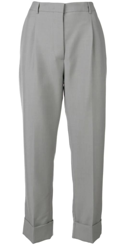 pantalone prada grigio