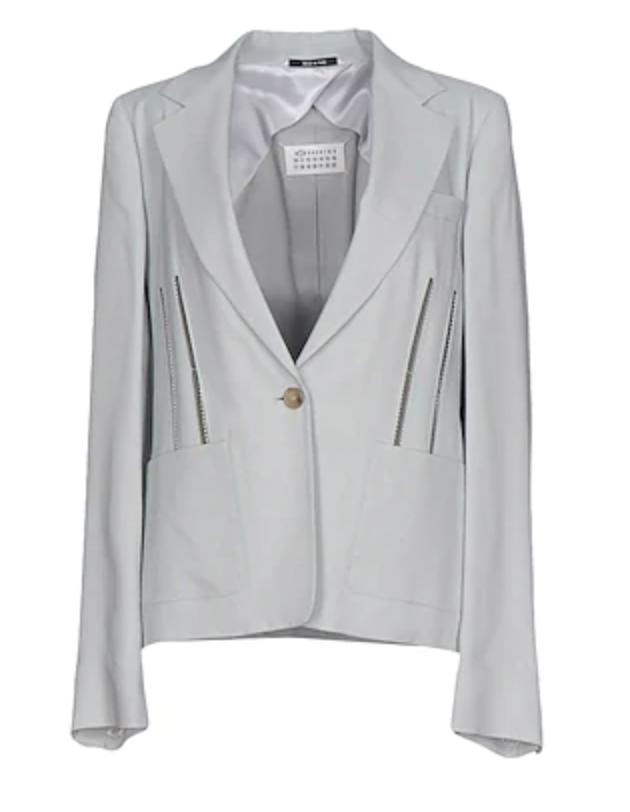 giacca margiela grigia