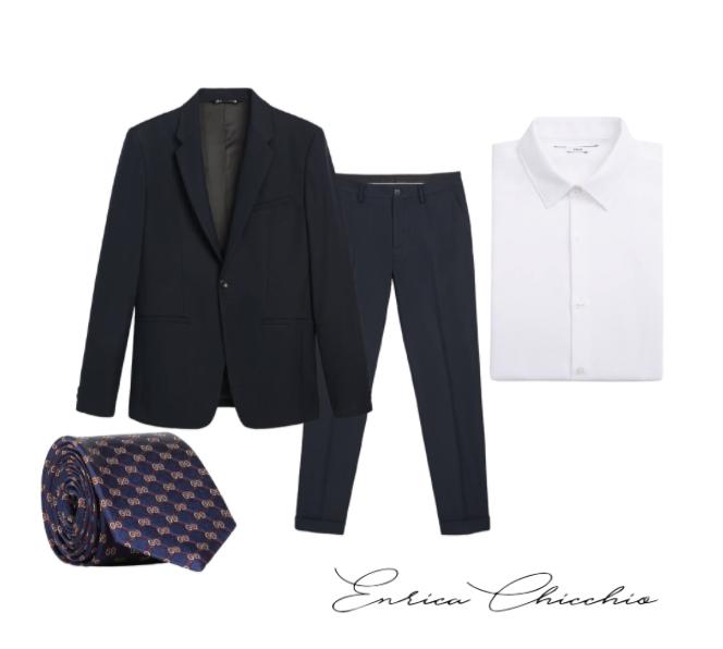 outfit laurea uomo