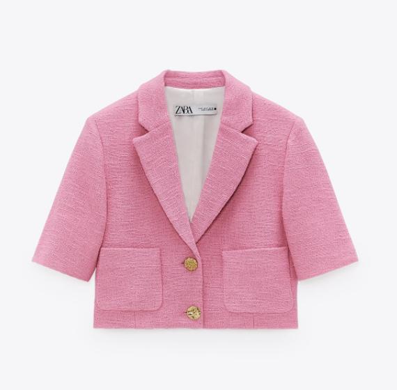 cardigan rosa palette jacqueline kennedy