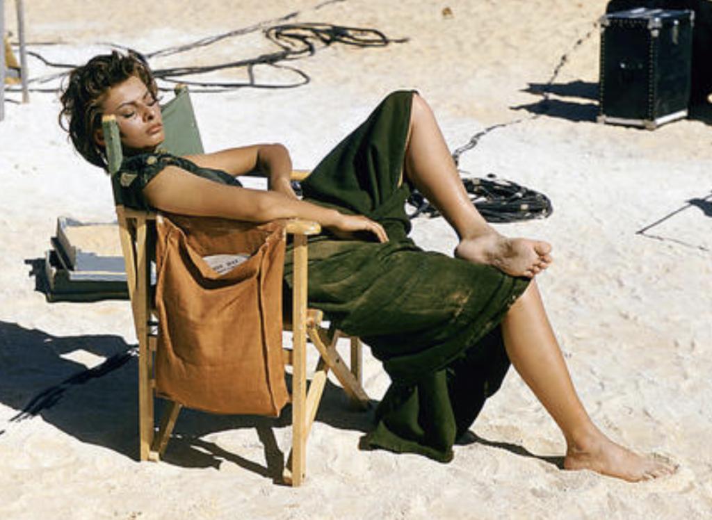 Sophia Loren palette calda